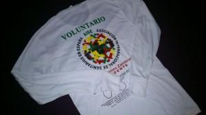 Camiseta Voluntario