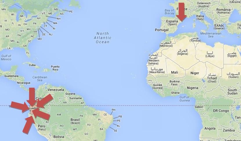 Mapa Mundi FLECHAS